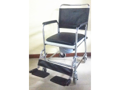 RA-CC017 four brake commode chair
