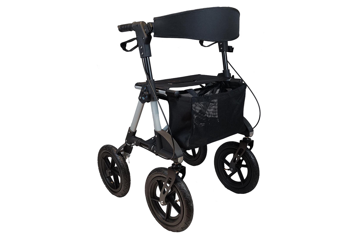 "RA-RL008 Aluminium Outdoor Rollator 12"" wheel"